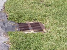Clear Stormwater Catch Basin