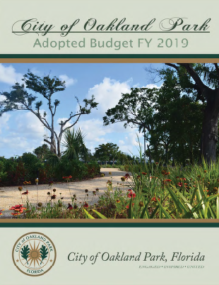 Fiscal Year 2019 Adopted Budget Cover