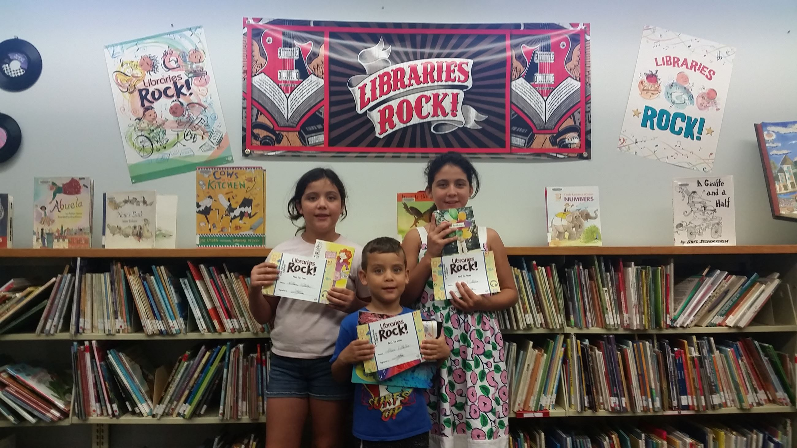 2018 Summer Reading Program Readers Photo