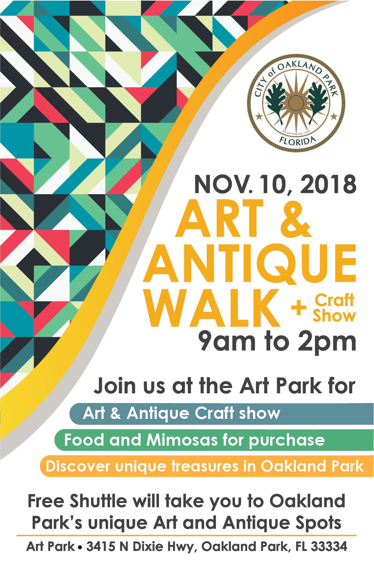 Art and Antique Walk 2018