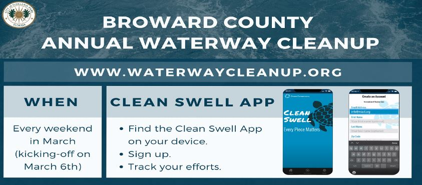 Broward County Annual Waterway cleanup 2021